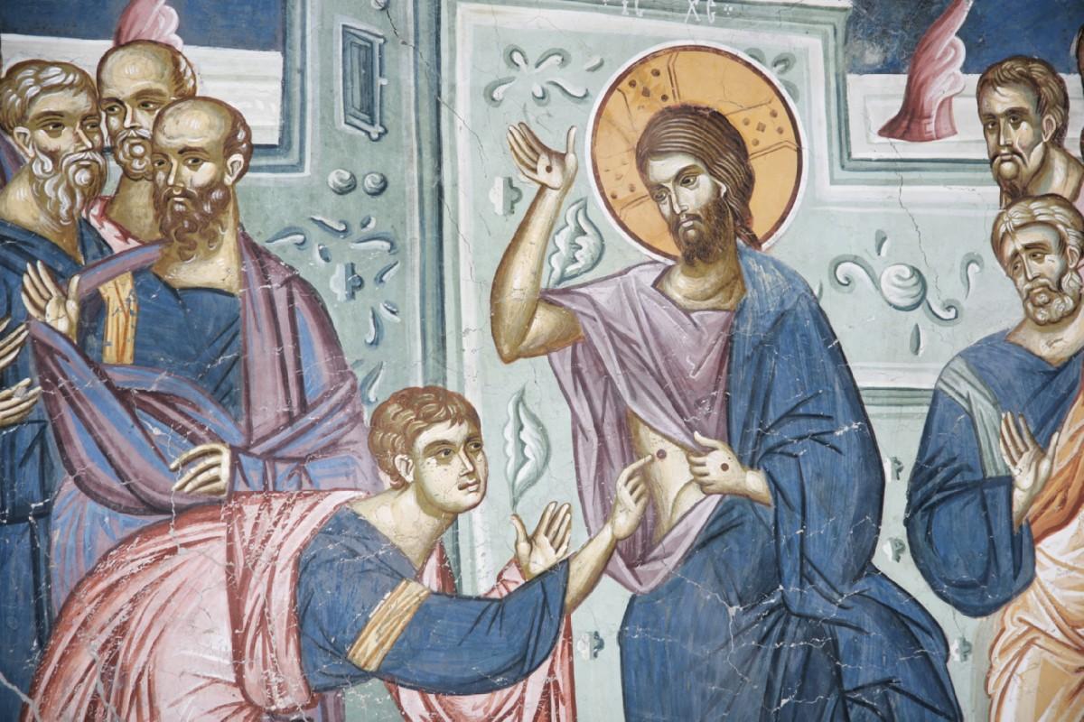 Недаром евангелие, в котором рассказывается об апостоле фоме, церковь предлагает